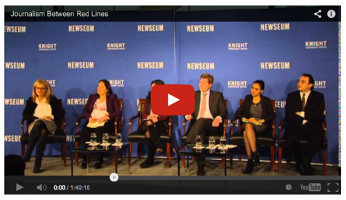 Journalists 'tiptoe through land mines' of reporting on religious freedom at RNS/Newseum event in D.C.